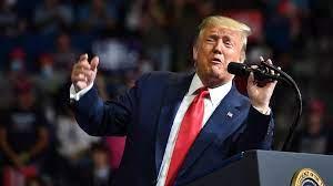 """ترامب يهاجم منافسه الديمقراطي بايدن ويعتبره """"دمية"""" في يد """"اليسار الراديكالي"""""""