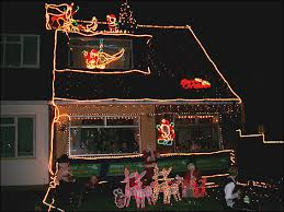 christmas lights on houses. Wonderful Lights Decorated House In Gilmore Way And Christmas Lights On Houses R
