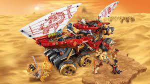 Le Q.G des ninjas 70677 - Sets LEGO® NINJAGO® - LEGO.com pour les enfants
