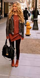 how to wear leather jacket casual and chic for women ideas 42 nona a