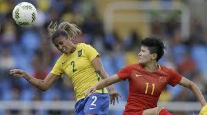 เปิดหัวโอลิมปิก! สาว 'แซมบ้า' ฟอร์มโหดไล่โขยก อาหมวย 3-0
