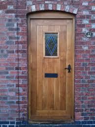 why choose solid oak external doors