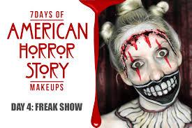 american horror story freak show twisty the clown makeup