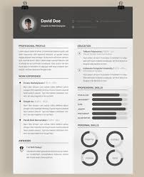 Cool Resume Templates Classy Unique Resume Template Gameisus