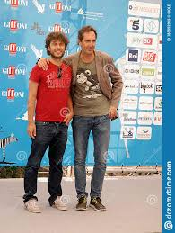 Sydney Sibilia And Paolo Calabresi At Giffoni Film Festival 2014 .  Editorial Image - Image of sydney, italy: 183552915