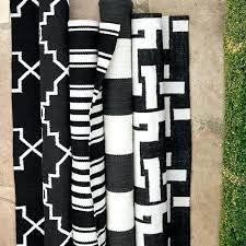 black and white outdoor rug black and white outdoor area rugs