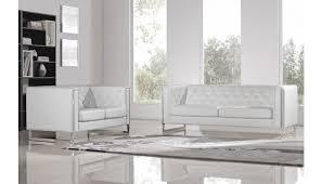 chelsea white sofa with metal leg