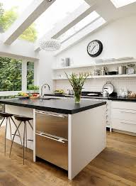 View in gallery Exquisite bespoke kitchen design with skylights [Design:  Roundhouse]