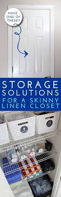 Bathroom Closet Organization Ideas Magnificent 48 Best Organizing The Linen Closet Images On Pinterest In 48