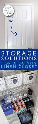 Bathroom Closet Organization Ideas Magnificent 48 Best Organizing The Linen Closet Images On Pinterest In 48