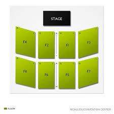 Mcallen Convention Center 2019 Seating Chart
