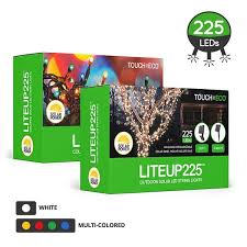 LITEUP225 Outdoor Solar 225 LED String Holiday Lights Free