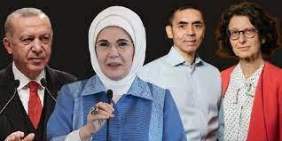 Özlem Türeci'yi, 'Uğur Bey'in eşi' olarak niteleyen Erdoğan'a tepki yağdı