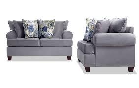 Living room furniture sets Rustic Monica Loveseat Set Bobs Discount Furniture Living Room Sets Bobscom