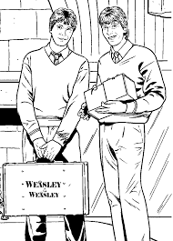 Fred And George Weasley Harry Potter