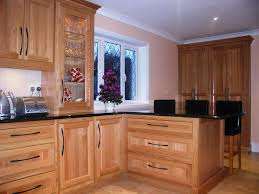 image of light oak kitchen cabinets designs ideas
