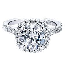 tyra 14k white gold round halo engagement ring er12559w44jj