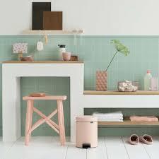 Pink Bathroom Bin Buy Brabantia Newicon Pedal Bin 5 Litres Clay Pink Amara