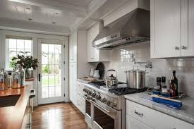 Hgtv Kitchen Designs 2015 Kitchen With White Cabinetry And Tile Backsplash Hgtv
