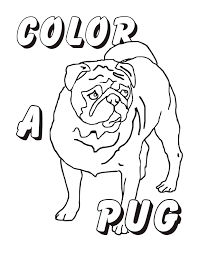 Small Picture Pugs Colouring Pages page 2 Coloring Home