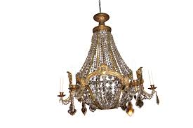 image of vintage chandeliers