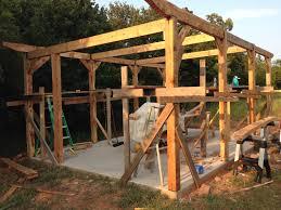 post beam construction. Interesting Beam Barn Frame Throughout Post Beam Construction M