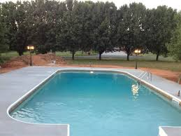 ... Fancy Swimming Pool Designs With Dark Pool Liners : Dazzling Swimming Pool  Decorating Ideas Using Rectangle ...