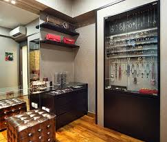 view in gallery built in jewelry display case
