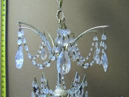 crystal chandelier replacement parts crystal chandelier after complete disassembly triple brass plating hand polished crystals missing