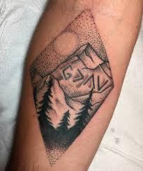 125 Best Mountain Tattoos Lets Climb High Wild Tattoo Art