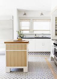 Kitchen floor tiles Black 10 Contemporary Blue Homedit 18 Beautiful Examples Of Kitchen Floor Tile