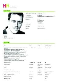 Free Actor Resume Template Beauteous Professional Acting Resume Unique Format Nice Luxury Example