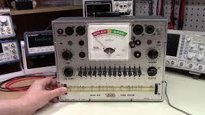 65 Eico 628 Tube Tester