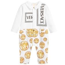 Young Versace Size Chart Young Baby Bodysuit