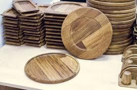 Набор деревянной посуды. Подставка под сковороду (<b>24 см</b> ...