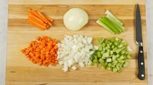Mirepoix base consists of carrots, celery, and onion all cooked down to make this flavorful product! Mirepoix Best Recipes Ever