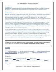 Pte A Essay Writing Template 2 Problem Solution _steven