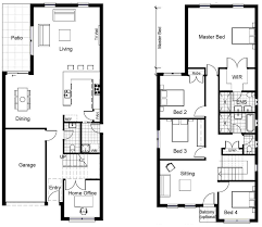 Floor Plan Two Storey   noomnvrdnscomFloor Plan Two Storey   images about House plan on Pinterest Two story houses