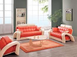 Orange Rugs For Living Room Living Room Floral Pattern Armchair Curtain Orange Wallpaper