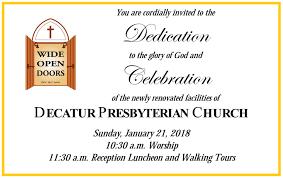 celebration invite decatur presbyterian church wod celebration invite decatur