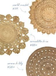round natural fiber rug jute rugs ikea