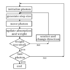 Flow Chart Of The Variable Step Size Monte Carlo Technique
