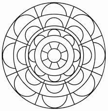 Stampa E Colora Mandala Pagine Da Colorare Astratte Disegni