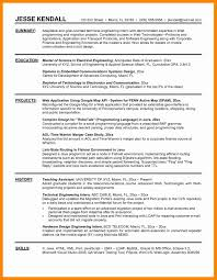 Internship Resume Examples Sampleat For Job Application Lovely
