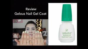 review gelous nail gel coat