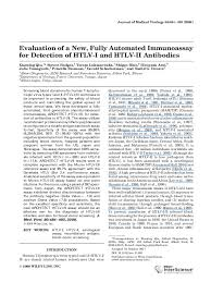 PDF) Evaluation of a new, fully automated immunoassay for detection of  HTLV-I and HTLV-II antibodies | Sushil Devare - Academia.edu