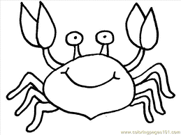 Small Picture Crab2 Coloring Page Free Crab Coloring Pages ColoringPages101com
