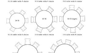 round table size for 8 round table size for 6 8 person dining dimensions did someone