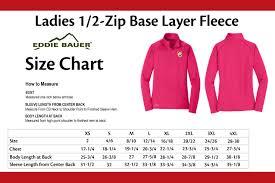 Birddawg Embroidered Eddie Bauer Ladies Base Layer Fleece