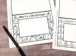 A wide variety of printable christmas cards options are available to you, such as paper. Free Printable Holiday Coloring Cards Crafting Cheerfully